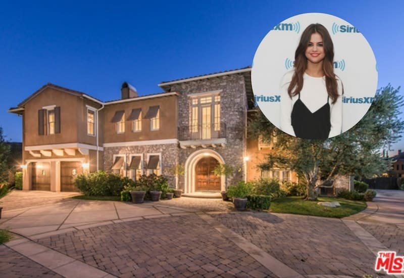 Selena Gomez Calabasas mansion is up in the market for $4.495M.