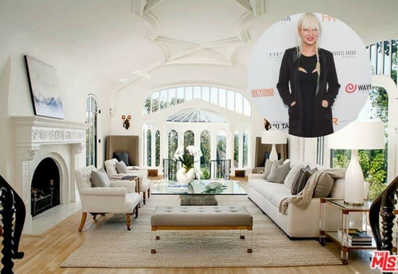 Sia lists her Los Feliz mansion for $4.995 million.