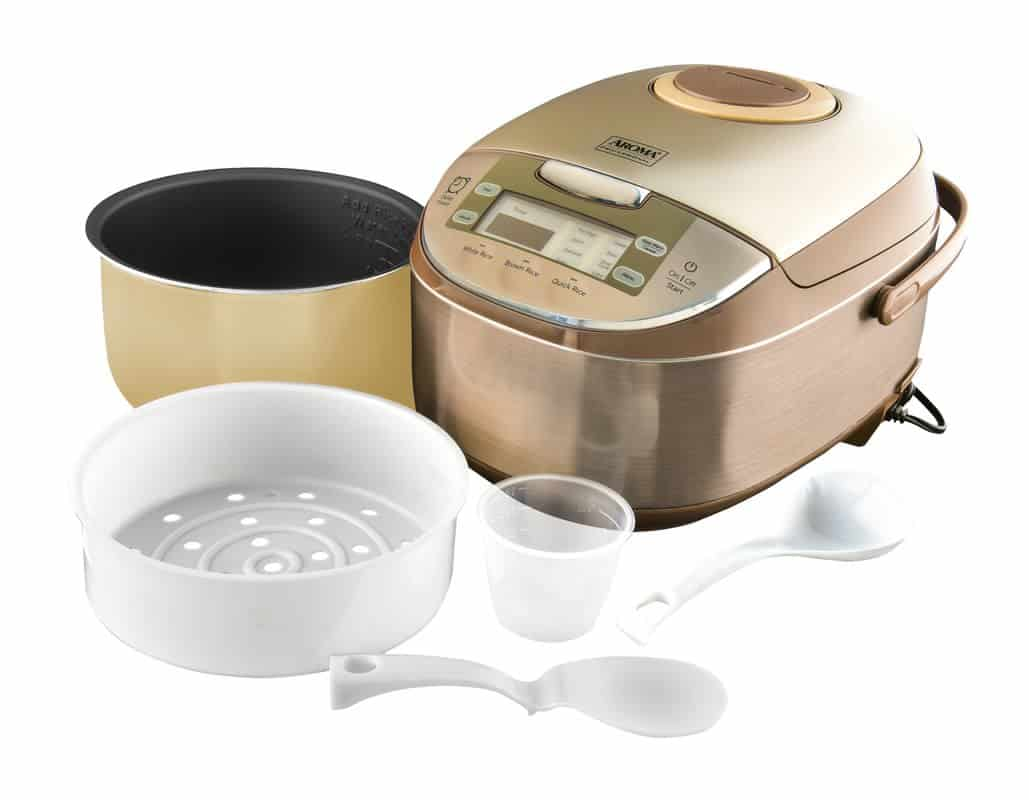 Portable professional digital rice cooker.
