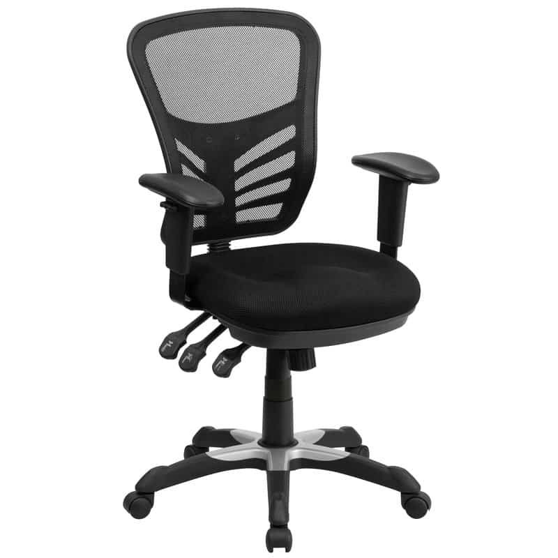 Mid-Back Mesh Desk Chair.