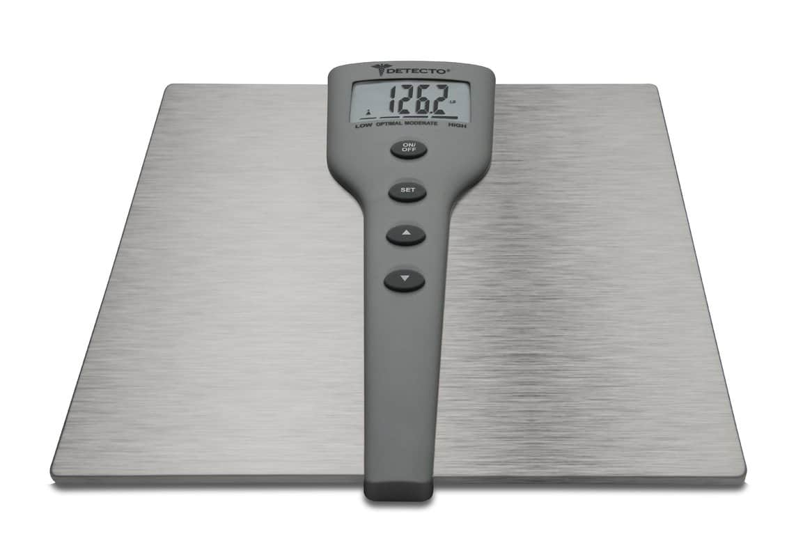 Muscle mass measurement scale