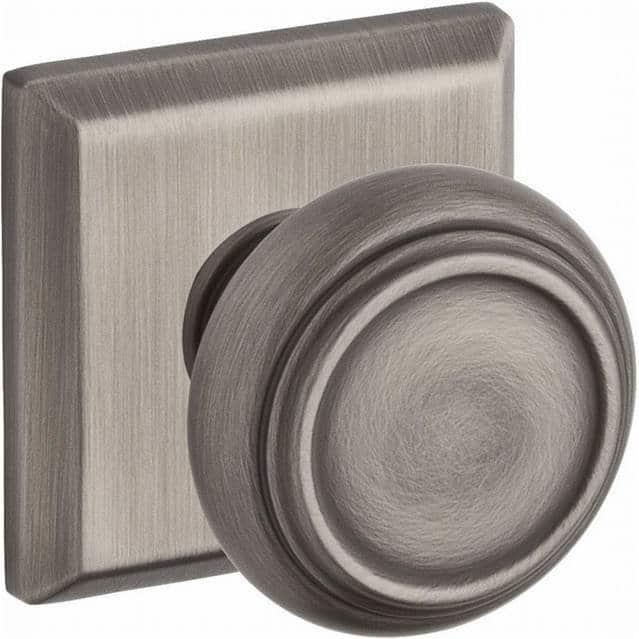 Round door knob.