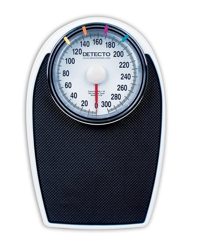 Slip-resistant scale