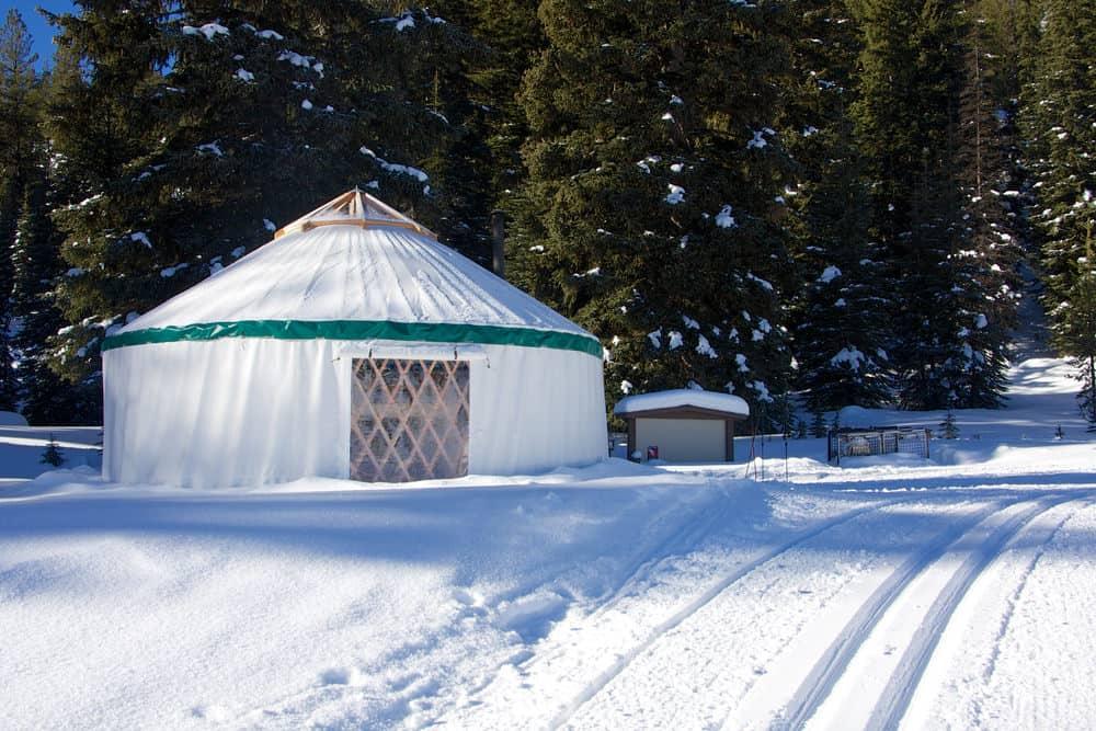Yurt home in Oregon, USA