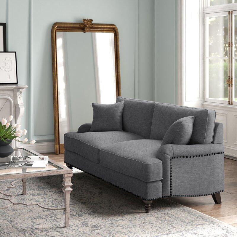 Deep seated sofa