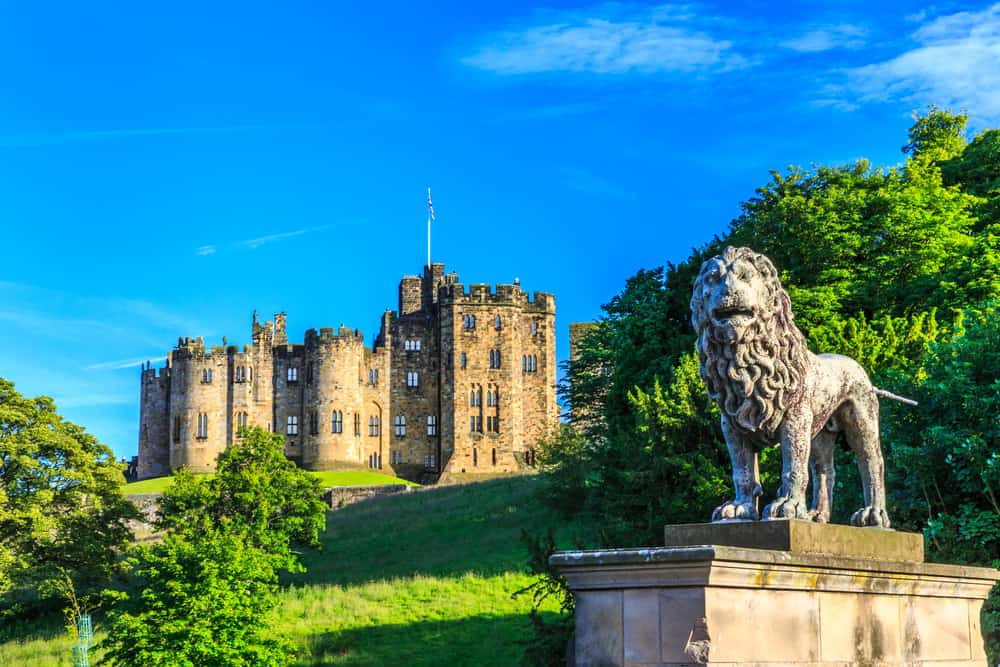Alnwick Castle (close-up)