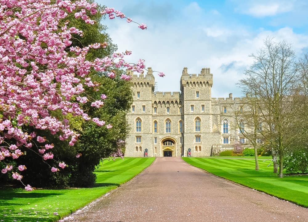 Windsor Castle front view