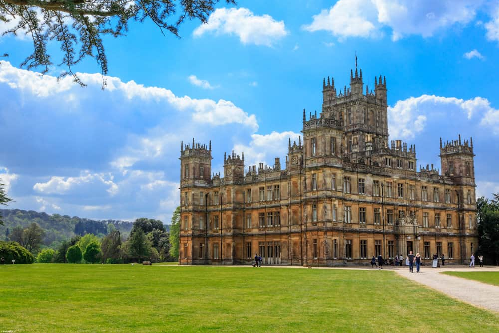 Highclere Castle (the home in the TV show Downton Abbey)