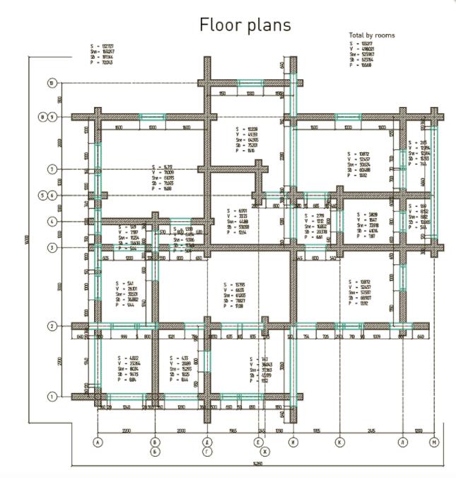 K3-Cottage Log House Design Software Floor Plans