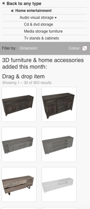 Roomstyler 3D Planner Audio Visual Storage