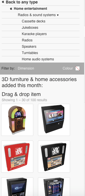 Roomstyler 3D Planner Sound Systems