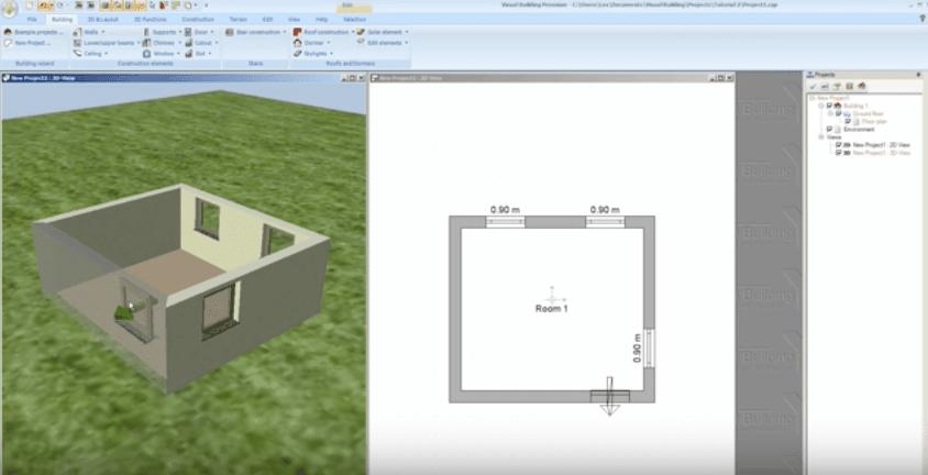 Visual Building Premium Door and Window