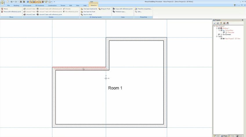 Visual Building Premium Walls