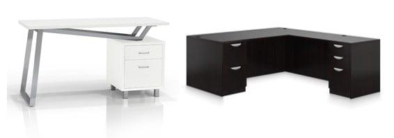 Commercial desks.