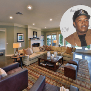 Dr. Dre Calabasas mansion worth $4.9M.