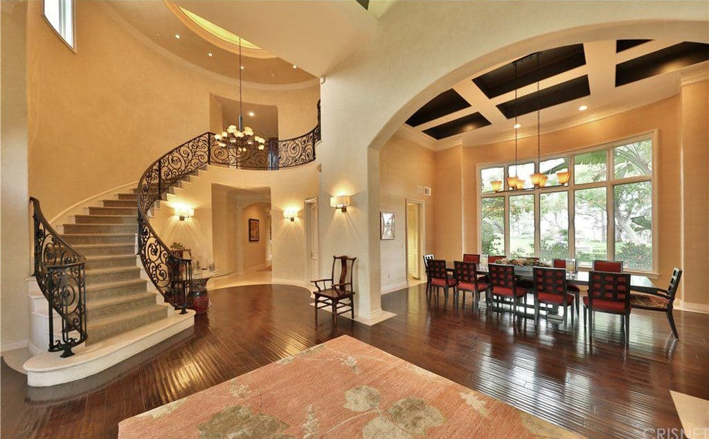 Two Story Foyer Conversion Cost : Foyer design ideas for all colors styles and sizes