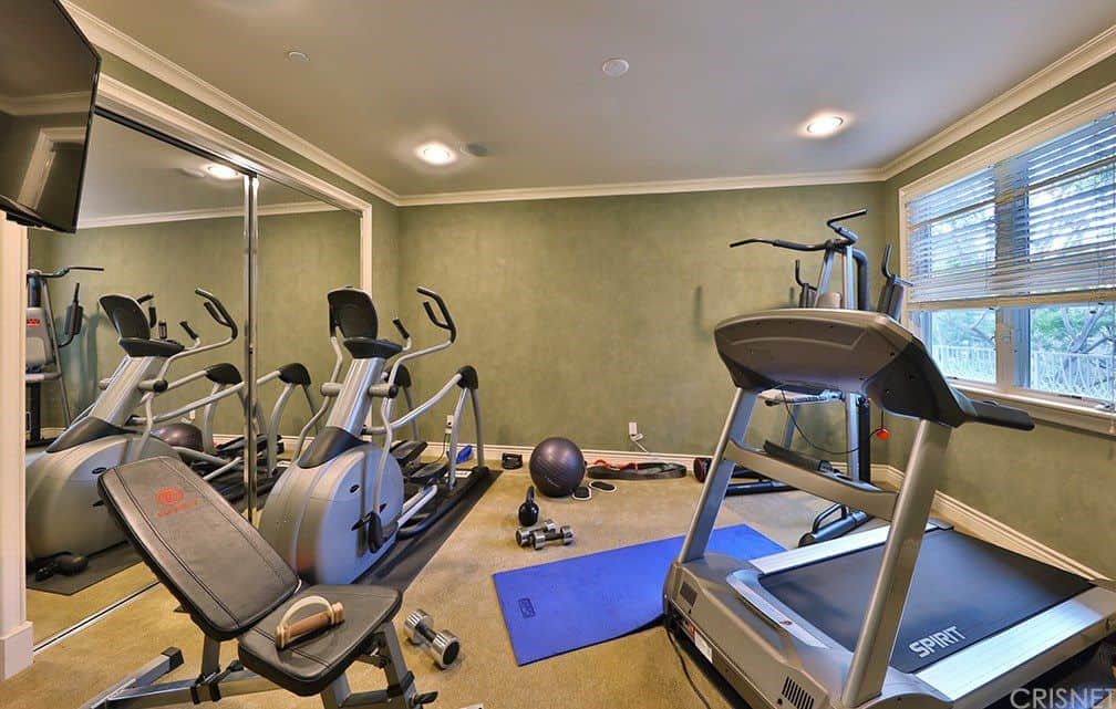 Home gym design ideas for