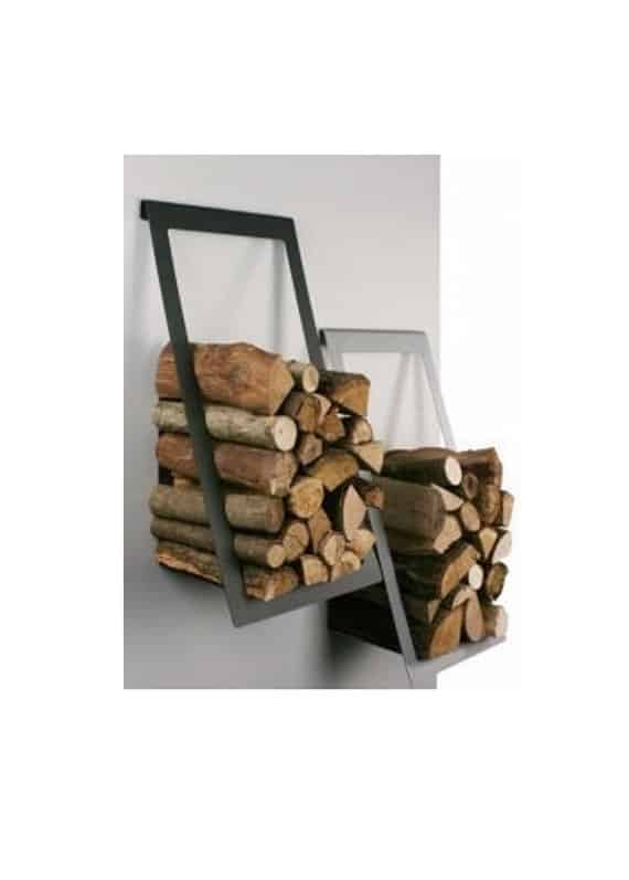 Floating firewood storage
