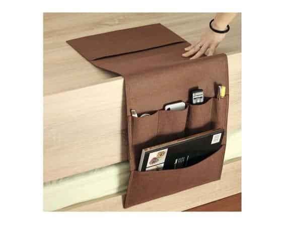 Magazine storage on furniture