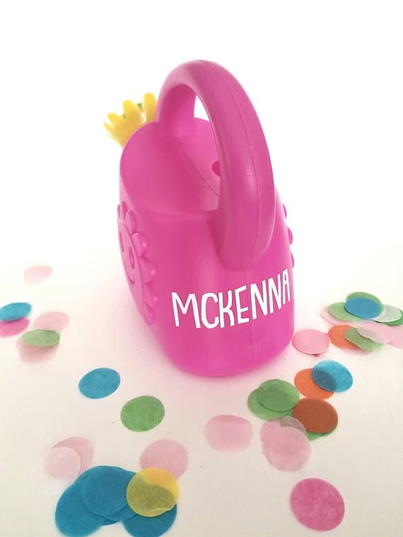 Watering can for toddlers