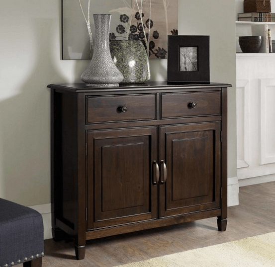 Cabinet for entryway storage