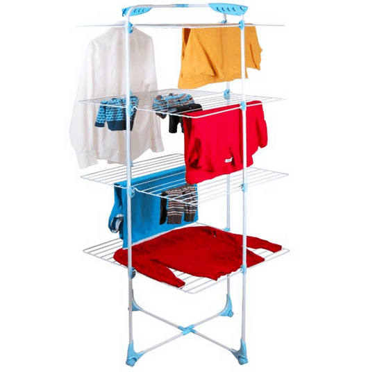 Indoor clothing rack