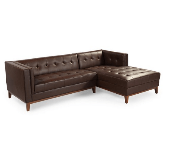 Sectional sofa for tall people