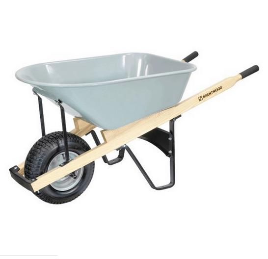 Stainless steel peg rest wheelbarrow