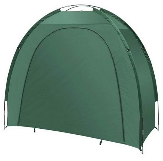 Tent for bike storage