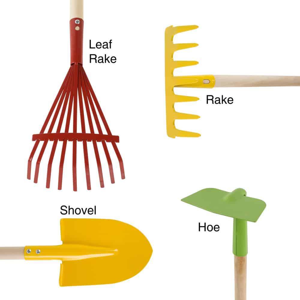 Leaf rake for toddlers