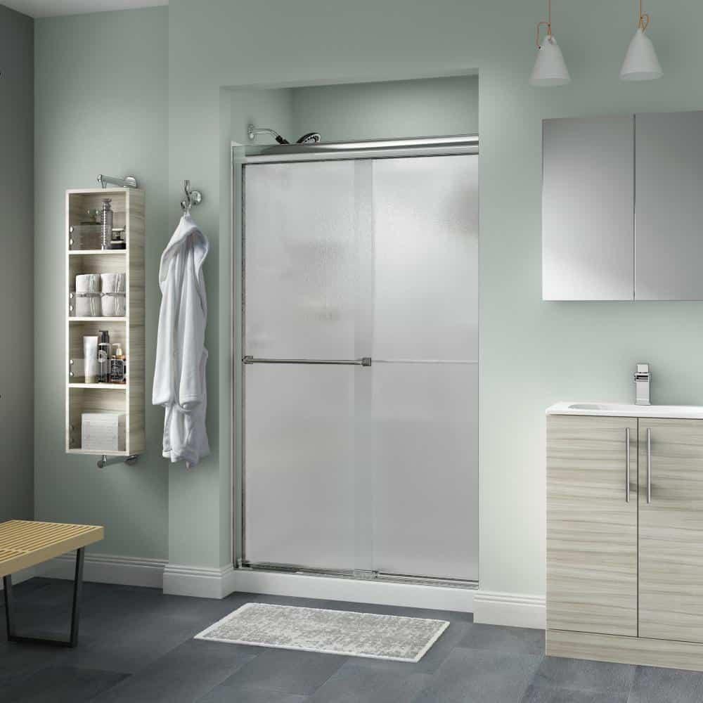 Rain shower door