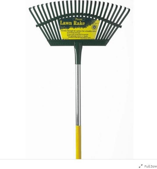 Steel rake