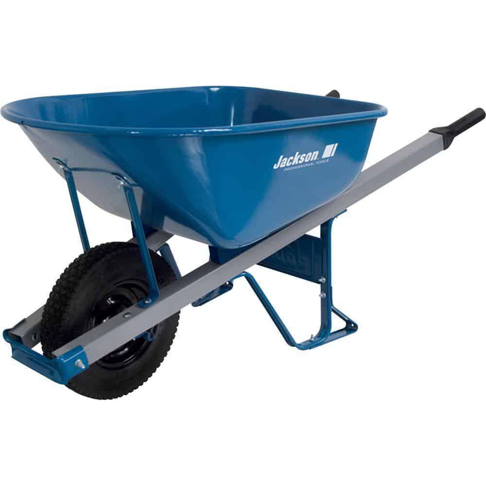 Wheelbarrow with non-pneumatic tire
