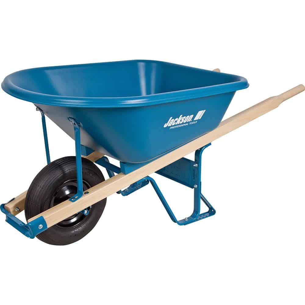 Wheelbarrow with pneumatic tire