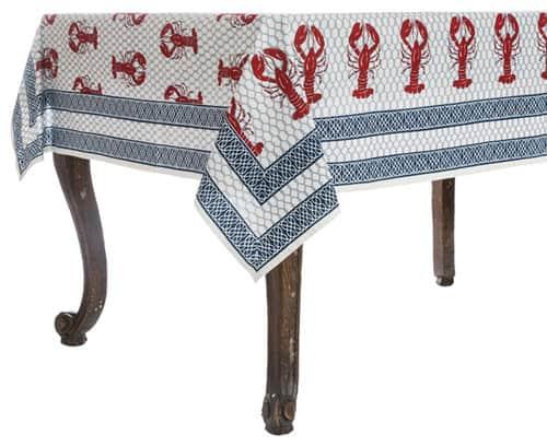 Beach-style tablecloth