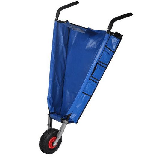 Canvas wheelbarrow