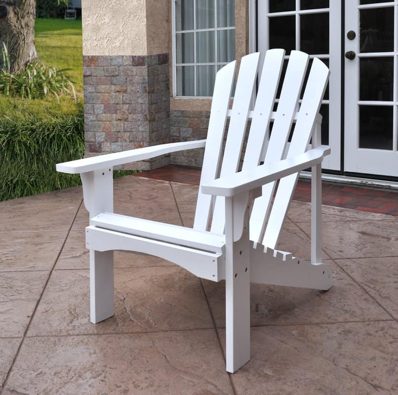 Deck chair for tall people