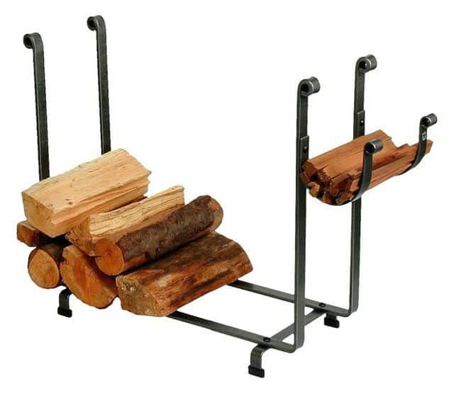 Heavy-duty firewood storage