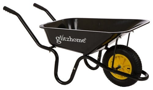 Heavy-duty wheelbarrow