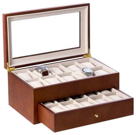 Large watch storage