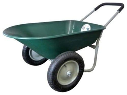 Lightweight wheelbarrow