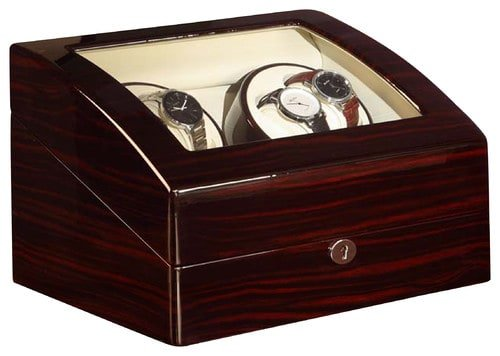 Locking watch storage