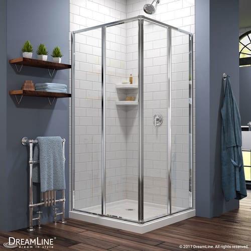 Modern shower door