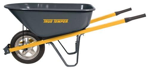 Steel wheelbarrow