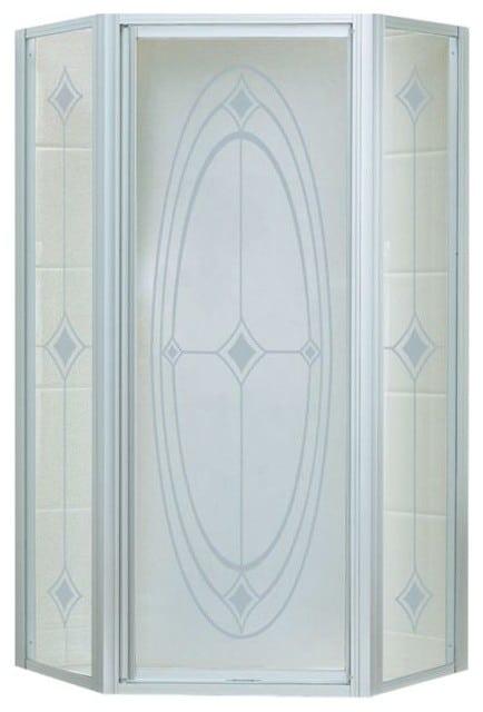 Traditional shower door