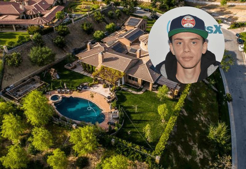 Logic Hidden Hills mansion worth $3.56M.