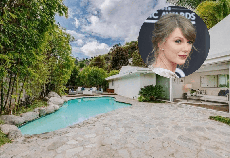 Taylor Swift's Beverly Hills mansion costs $2.95 million.