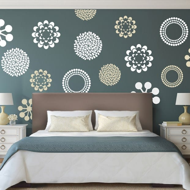 Stylish wall decals.