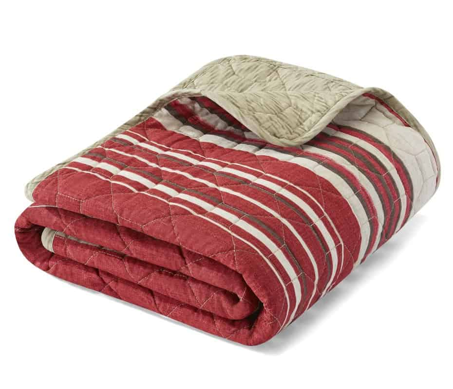 Stripes throw