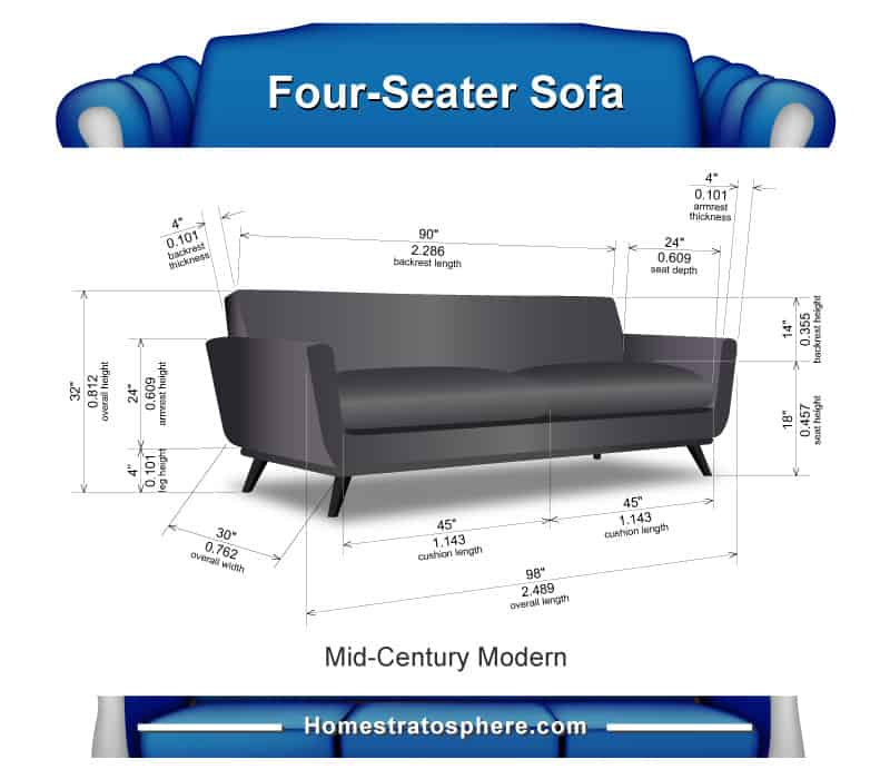 Sofa Length Vs Loveseat Length